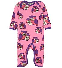 Småfolk Jumpsuit - Rose w. Owls