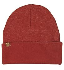 Danefæ Beanie - Rust/Copper Lurex