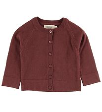 MarMar Cardigan - Wool/Cotton - Totti - Wine