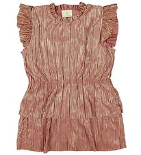 En Fant Dress - Pleated - Rose