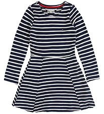 Tommy Hilfiger Dress - Navy/Whitestriped