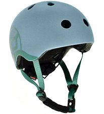 Scoot and Ride Helmet - Steel