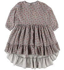 Gro Dress - Cille - Grey/Multi