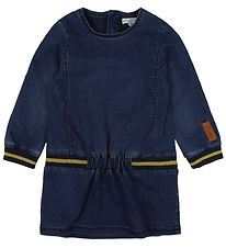 Small Rags Dress - Dark Blue Denim