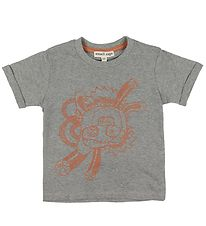 Small Rags T-shirt - Grey w. Mr. Rags