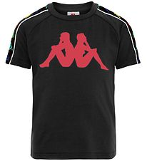 Kappa T-shirt - Coen - Black