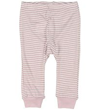 Fixoni Leggings - Joy - Wool/Silk - Dusty Rose/Striped
