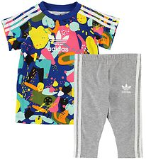 adidas Originals Dress/Leggings set - Multicolour w. Print