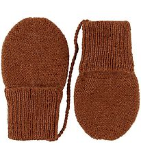 Huttelihut Mittens - Alpaca Wool - Burned
