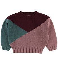 Soft Gallery Jumper - Wool/Cotton - Essy - Tricolor