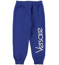 Versace Sweatpants - Blue w. Print