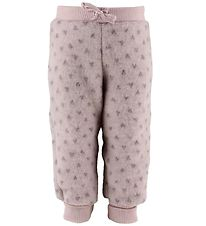Joha Trousers - Wool - Rose w. Hearts
