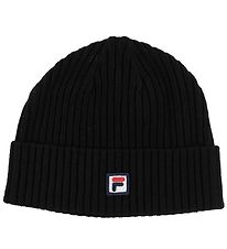 Fila Beanie - Fisherman - Black w. Logo
