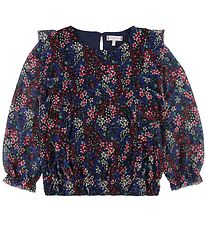 Tommy Hilfiger Blouse - Navy/Flowers