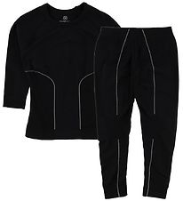 Color Kids Baselayer - Waldi - Black