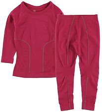 Color Kids Baselayer - Waldi - Rasberry