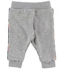 Paul Smith Baby Sweatpants - Vroum - Grey Melange