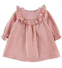 Bonton Dress - Rose w. Gold