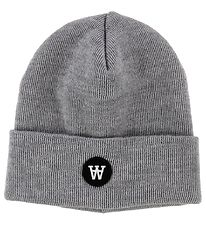 Wood Wood Hat - Wool - Kai - Grey Melange