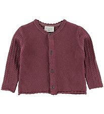 Fixoni Cardigan - Knitted - Joy - Dark Rose