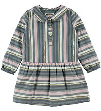 Small Rags Dress - Multi w. Stripes