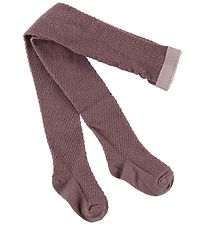 MP Tights - Wool - Dusty Purple w. Structure