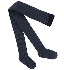 MP Tights - Wool - Navy Melange