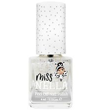 Miss Nella Nail Polish - Clear w. Glitter