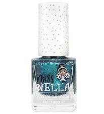 Miss Nella Nail Polish - Blue Metal