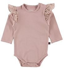 Little Wonders Body l/æ - Filuca - Dusty Rose w. Lace