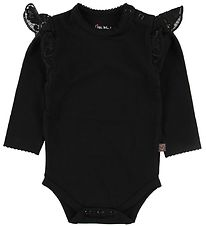 Little Wonders Body l/s - Filuca - Black w. Lace