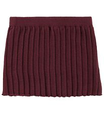 MP Skirt - Wool/Cotton - Bordeaux