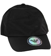 Emporio Armani Cap - Black w. Sticker
