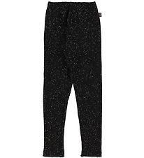 Little Wonders Leggings - Black w. Gold Dots