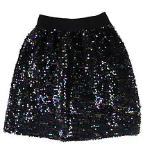 Grunt Skirt - April - Black w. Sequins