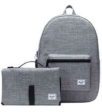 Herschel Changing Bag - Settlement Sprout - Raven Crosshatch