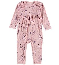 Minymo Jumpsuit - Rose w. Bunnies