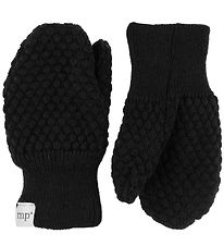 MP Mittens - Wool/Cotton - Black