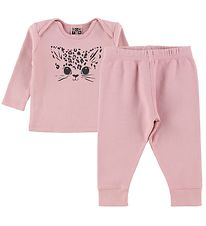 Bonton Pyjama Set - Rose w. Cat