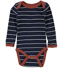 Smallstuff Bodysuit l/s - Navy Striped