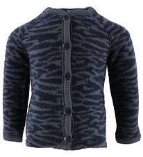 Smallstuff Cardigan - Wool - Zebra