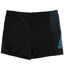 Speedo Swim Pants - UV50+ - Aquashort - Black/Blue