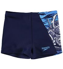 Speedo Swim Pants - UV50+ - Aquashort - Navy w. Samurai