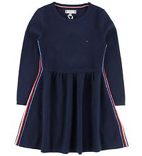Tommy Hilfiger Dress - Global Stripe - Navy