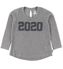 Danefæ Long Sleeve Top - Filucca - Grey Melange w. Silver/2020