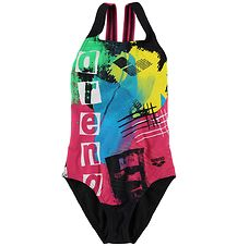 Arena Swimsuit - Rock JR - Black/Multi