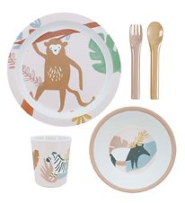 Sebra Dinner Set - Melamin - Wildlife