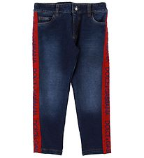Dolce & Gabbana Jeans - Blue Denim w. Red