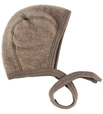 Engel Baby Hat - Wool - Walnut Melange