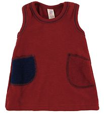 Engel Dress - Wool - Red Melange